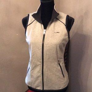 EUC Ralph Lauren small zip up vest